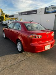 2013 Mitsubishi Lancer CJ MY14 ES Red 6 Speed Constant Variable Sedan