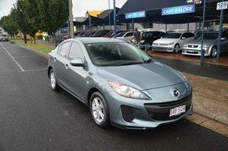 2012 Mazda 3 BL Series 2 MY13 Maxx Sport Blue 5 Speed Automatic Sedan.
