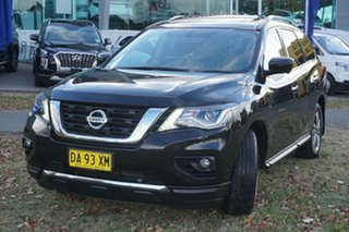 2017 Nissan Pathfinder R52 Series II MY17 ST-L X-tronic 2WD Black 1 Speed Constant Variable Wagon