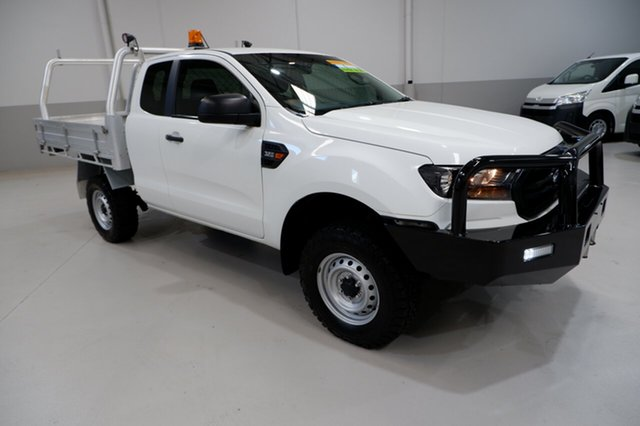 Used Ford Ranger PX MkII 2018.00MY XL Kenwick, 2018 Ford Ranger PX MkII 2018.00MY XL White 6 Speed Manual Cab Chassis