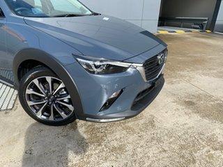 2021 Mazda CX-3 DK2W7A sTouring SKYACTIV-Drive FWD Polymetal Grey 6 Speed Sports Automatic Wagon.
