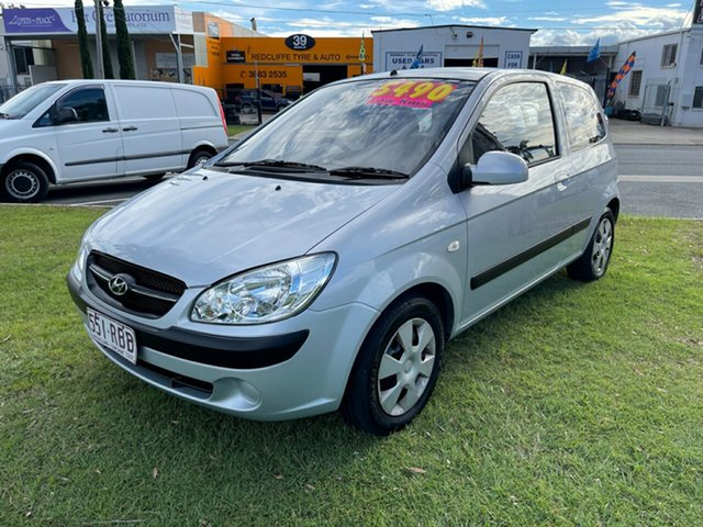 Used Hyundai Getz TB MY09 S Clontarf, 2009 Hyundai Getz TB MY09 S Silver 5 Speed Manual Hatchback