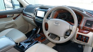 2004 Toyota Landcruiser Prado GRJ120R Grande Gold 5 Speed Automatic Wagon