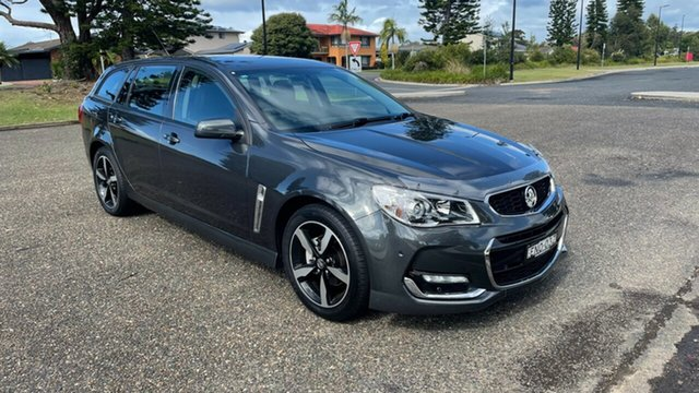 Used Holden Commodore VF II MY17 SV6 Sportwagon Port Macquarie, 2017 Holden Commodore VF II MY17 SV6 Sportwagon Grey 6 Speed Sports Automatic Wagon