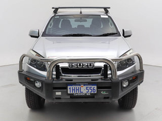 2016 Isuzu D-MAX TF MY15 LS-M HI-Ride (4x4) Silver 5 Speed Manual Crew Cab Utility.