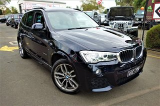2016 BMW X3 F25 LCI xDrive20d Steptronic Black 8 Speed Automatic Wagon.