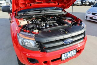 2014 Ford Ranger PX XL Hi-Rider Red 6 Speed Sports Automatic Utility