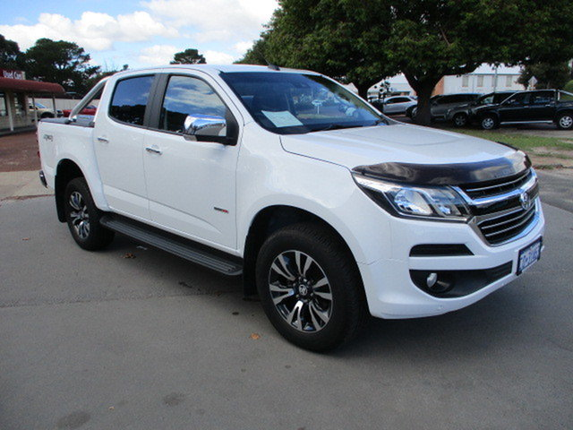Used Holden Colorado RG MY18 LTZ Katanning, 2018 Holden Colorado RG MY18 LTZ White 6 Speed Automatic Dual Cab