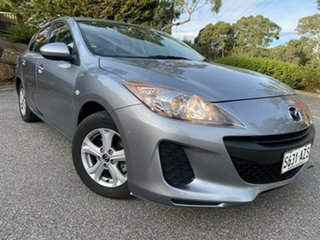 2013 Mazda 3 BL10F2 MY13 Neo Activematic Silver 5 Speed Sports Automatic Hatchback.