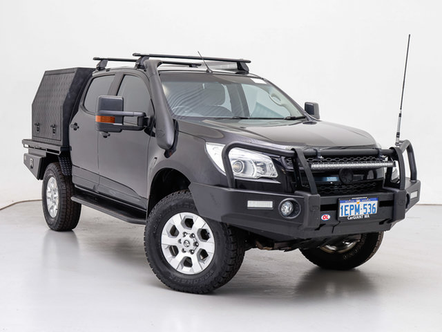 Used Holden Colorado RG MY14 LTZ (4x4), 2014 Holden Colorado RG MY14 LTZ (4x4) Black 6 Speed Automatic Crew Cab Pickup