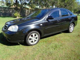 2008 Holden Viva JF MY09 Black 5 Speed Manual Sedan.