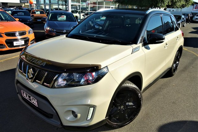 Used Suzuki Vitara LY S Turbo 2WD Seaford, 2016 Suzuki Vitara LY S Turbo 2WD White 6 Speed Sports Automatic Wagon