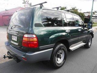 2000 Toyota Landcruiser FZJ105R GXL Green 4 Speed Automatic Wagon.