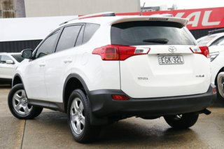 2015 Toyota RAV4 ZSA42R GX 2WD White 7 Speed Constant Variable Wagon.
