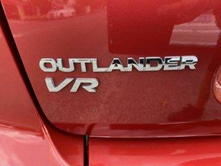 2008 Mitsubishi Outlander ZG MY08 VR (7 Seat) Red 6 Speed Auto Sports Mode Wagon