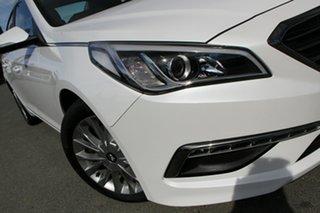 2016 Hyundai Sonata LF3 MY17 Active Ice White 6 Speed Sports Automatic Sedan.