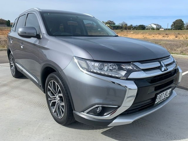 Used Mitsubishi Outlander ZK MY17 LS 4WD Safety Pack Victor Harbor, 2016 Mitsubishi Outlander ZK MY17 LS 4WD Safety Pack Grey 6 Speed Constant Variable Wagon