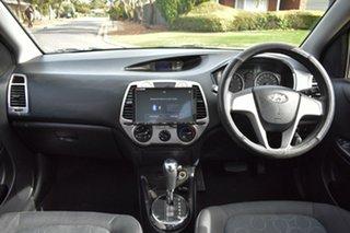 2012 Hyundai i20 PB MY12 Active Green 4 Speed Automatic Hatchback.