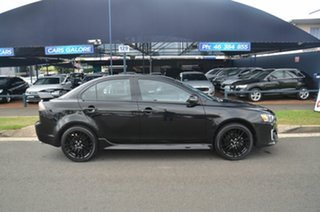 2017 Mitsubishi Lancer CF MY17 ES Sport Black 6 Speed CVT Auto Sequential Sedan.