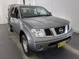 2011 Nissan Navara D40 MY11 RX Grey 6 Speed Manual Cab Chassis.