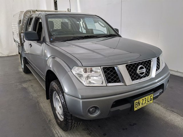 Used Nissan Navara D40 MY11 RX Maryville, 2011 Nissan Navara D40 MY11 RX Grey 6 Speed Manual Cab Chassis