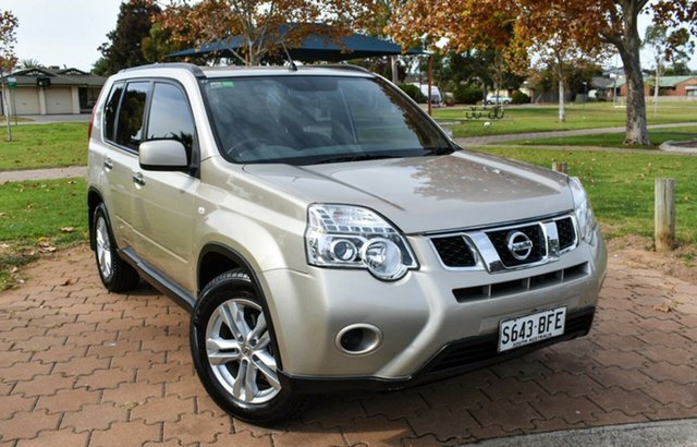 Used Nissan X-Trail T31 Series V ST Ingle Farm, 2013 Nissan X-Trail T31 Series V ST Gold 1 Speed Constant Variable Wagon