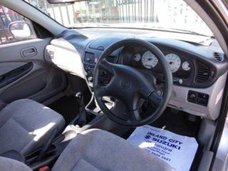 2001 Nissan Pulsar N16 Q Silver 5 Speed Manual Sedan