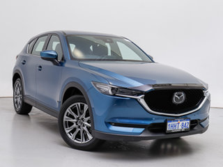 2020 Mazda CX-5 CX-5J Akera Turbo (AWD) Blue 6 Speed Automatic Wagon.