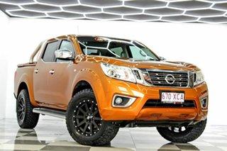 2017 Nissan Navara D23 Series II ST (4x4) Gold 7 Speed Automatic Dual Cab Utility.