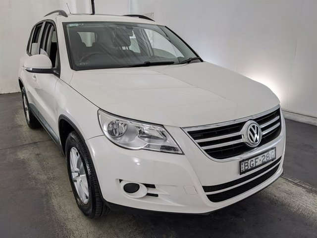 Used Volkswagen Tiguan 5N 103TDI 4MOTION Maryville, 2008 Volkswagen Tiguan 5N 103TDI 4MOTION White 6 Speed Manual Wagon