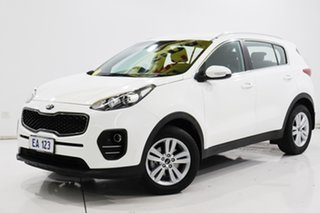 2017 Kia Sportage QL MY18 Si 2WD White 6 Speed Sports Automatic Wagon.