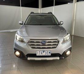 2015 Subaru Outback B6A MY15 2.5i CVT AWD Premium Silver, Chrome 6 Speed Constant Variable Wagon.