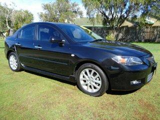 2009 Mazda 3 BK10F2 MY08 Maxx Sport Black 5 Speed Manual Sedan.