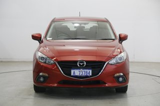 2016 Mazda 3 BM5438 SP25 SKYACTIV-Drive Red 6 Speed Sports Automatic Hatchback.