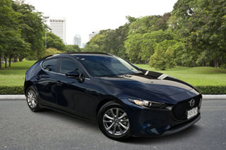 2019 Mazda 3 BP2H7A G20 SKYACTIV-Drive Pure Blue 6 Speed Sports Automatic Hatchback.