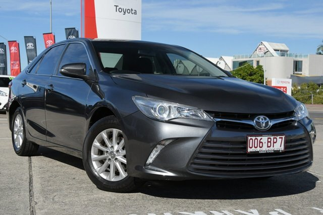Pre-Owned Toyota Camry ASV50R Altise Albion, 2017 Toyota Camry ASV50R Altise Graphite 6 Speed Sports Automatic Sedan
