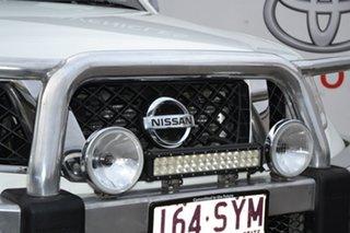 2012 Nissan Navara D40 MY12 ST-X 550 (4x4) White 7 Speed Automatic Dual Cab Utility.