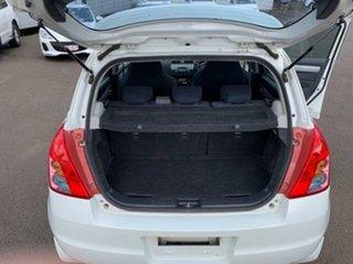 2009 Suzuki Swift EZ 07 Update White 5 Speed Manual Hatchback