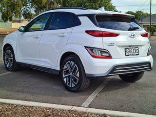 2021 Hyundai Kona Os.v4 MY21 electric Highlander Atlas White 1 Speed Reduction Gear Wagon