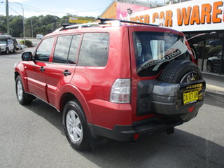 2007 Mitsubishi Pajero NS GLX LWB (4x4) Burgundy 5 Speed Auto Sports Mode Wagon.