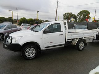 2012 Holden Colorado RG DX (4x4) White 5 Speed Manual Cab Chassis