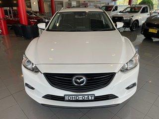 2016 Mazda 6 GJ1032 Sport SKYACTIV-Drive White 6 Speed Sports Automatic Wagon.