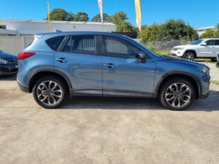 2016 Mazda CX-5 KE1022 Grand Touring SKYACTIV-Drive AWD Blue 6 Speed Sports Automatic Wagon.