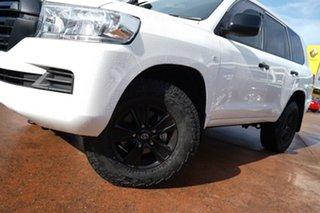 2020 Toyota Landcruiser VDJ200R LC200 GX (4x4) White 6 Speed Automatic Wagon.