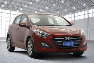 2016 Hyundai i30 GD4 Series II MY17 Active Fiery Red 6 Speed Sports Automatic Hatchback.