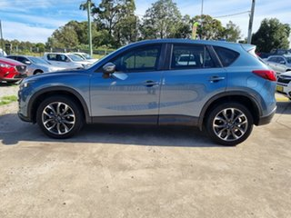 2016 Mazda CX-5 KE1022 Grand Touring SKYACTIV-Drive AWD Blue 6 Speed Sports Automatic Wagon