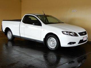 2010 Ford Falcon FG Upgrade White 6 Speed Auto Seq Sportshift Utility.