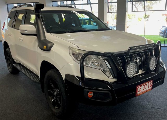 Used Toyota Landcruiser Prado GDJ150R GXL Winnellie, 2015 Toyota Landcruiser Prado GDJ150R GXL White 6 Speed Sports Automatic Wagon
