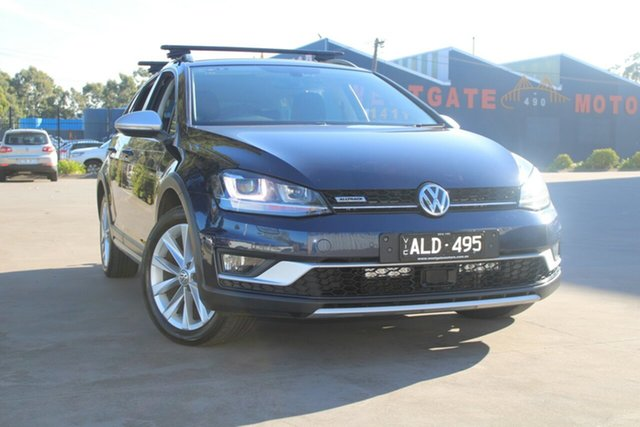 Used Volkswagen Golf AU MY17 Alltrack 132 TSI West Footscray, 2016 Volkswagen Golf AU MY17 Alltrack 132 TSI 6 Speed Direct Shift Wagon