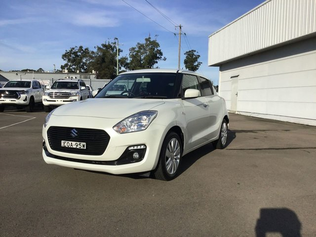Used Suzuki Swift AZ GL Navigator Cardiff, 2018 Suzuki Swift AZ GL Navigator White 1 Speed Constant Variable Hatchback